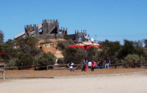 Adventure Playground at St Kilda SA.