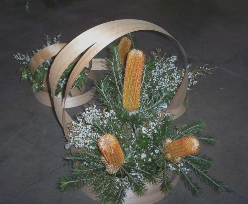 Arrangement with Banksias